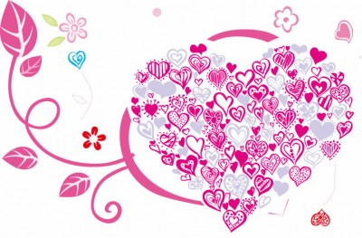 Beautiful-Heart-with-Floral-Ornament