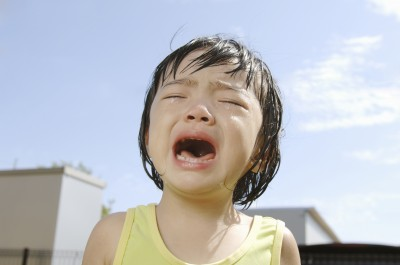 ギャン泣き